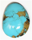 NATURAL PILOT MOUNTAIN TURQUOISE CABOCHON 20 cts