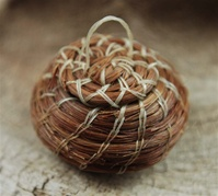 MINIATURE PAPAGO HORSEHAIR BASKET