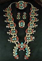 RARE BERNICE QUALO INDIAN CORN CLUSTER SET