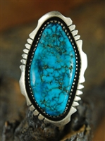 STUNNING JAMES JOE MORENCI TURQUOISE RING