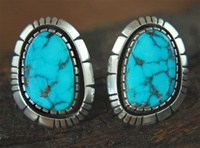 JAMES LEE MORENCI TURQUOISE EARRINGS