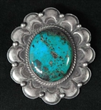 JAMES LEE MORENCI TURQUOISE PENDANT/PIN