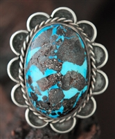 LARGE PERSIAN TURQUOISE RING
