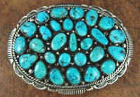 "JAMES JOE MORENCI TURQUOISE CLUSTER BUCKLE<SPAN style=""COLOR: #ff0000; FONT-WEIGHT: bold"">*SOLD*</SPAN></SPAN>"