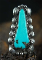 BEAUTIFULLY CRAFTED BISBEE TURQUOISE RING