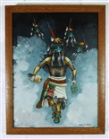 DUANE DISHTA LONG HAIR KACHINA