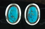 DELBERT GORDON MORENCI TURQUOISE EARRINGS