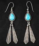 LOVELY DOUGLAS HARRISON DANGLE EARRINGS