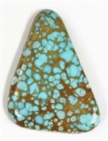 NATURAL #8 TURQUOISE CABOCHON 18.4 cts