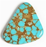 NATURAL #8 TURQUOISE CABOCHON 15.6 cts