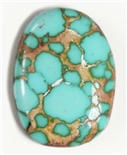 NATURAL #8 TURQUOISE CABOCHON 11 cts