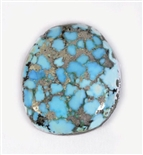 NATURAL #8 TURQUOISE CABOCHON 5.1cts