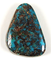 NATURAL APACHE BLUE TURQUOISE CABOCHON 21.2cts