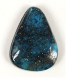 NATURAL APACHE BLUE TURQUOISE CABOCHON 6.6cts