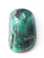 BROKEN ARROW VARISCITE CABOCHON 9.5 cts