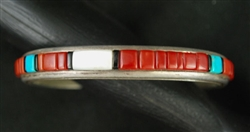PHIL & FANNIE BITSOI-RUSSELL INLAYED  BRACELET