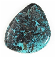 NATURAL BLUE DIAMOND TURQUOISE CABOCHON 59.2 cts