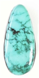 NATURAL BLUE RIDGE TURQUOISE CABOCHON 16.6 cts
