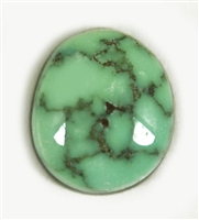 NATURAL CARICO LAKE TURQUOISE CABOCHON 5.1cts