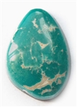NATURAL FOX TURQUOISE CABOCHON 13.8 cts