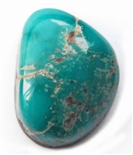 NATURAL FOX TURQUOISE CABOCHON 12.4 cts