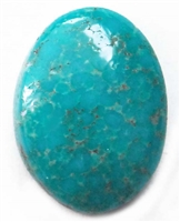 NATURAL FOX TURQUOISE CABOCHON 4.4 cts