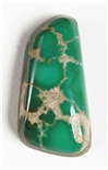 NATURAL GRASSHOPPER TURQUOISE CABOCHON 11 cts