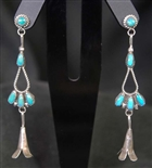 LOVELY ZUNI DANGLE EARRING