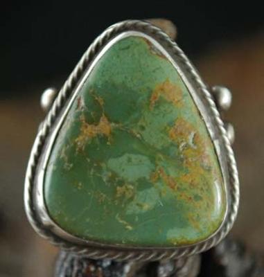 Rare Manassa Turquoise Ring