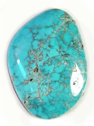 NATURAL INDIAN MOUNTAIN TURQUOISE CABOCHON 32.6cts