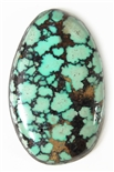 NATURAL INDIAN MOUNTAIN TURQUOISE CABOCHON 31.4cts