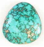 NATURAL INDIAN MOUNTAIN TURQUOISE CABOCHON 26.8cts