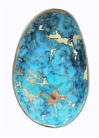 NATURAL INDIAN MOUNTAIN TURQUOISE CABOCHON 23.9cts
