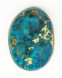 NATURAL INDIAN MOUNTAIN TURQUOISE CABOCHON 10.9 cts