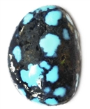 NATURAL LANDER BLUE TURQUOISE CABOCHON 2.4 cts