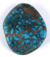 NATURAL RED MOUNTAIN TURQUOISE CABOCHON 6.6cts