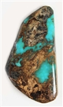 NATURAL VILLA GROVE TURQUOISE CABOCHON 6 cts