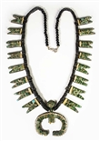 RARE KEWA PUEBLO DEPRESSION ERA NECKLACE