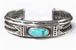 EARLY NAVAJO TURQUOISE BRACELET