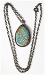 LOVELY MARK CHEE #8 TURQUOISE PENDANT