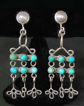 LOVELY EARLY PUEBLO/NAVAJO EARRINGS