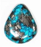 NATURAL MORENCI TURQUOISE CABOCHON 34 cts