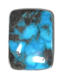 NATURAL MORENCI TURQUOISE CABOCHON 20 cts