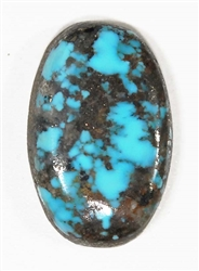 NATURAL MORENCI TURQUOISE CABOCHON 12.5 cts