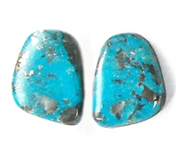 NATURAL MORENCI TURQUOISE MATCHED PAIR 27 cts.