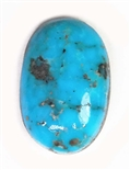 NATURAL MORENCI TURQUOISE CABOCHON 8.5 cts