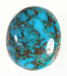 NATURAL MORENCI TURQUOISE CABOCHON 13 cts