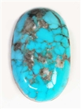 NATURAL MORENCI TURQUOISE CABOCHON 11 cts