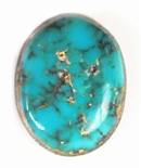 NATURAL MORENCI TURQUOISE CABOCHON 8 cts