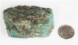 NATURAL MORENCI TURQUOISE SPECIMEN 235 GRAMS